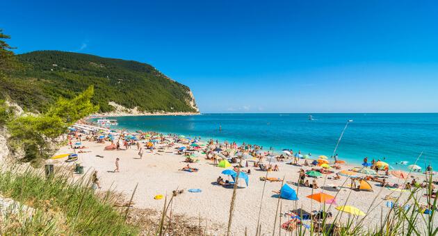 strande i italien