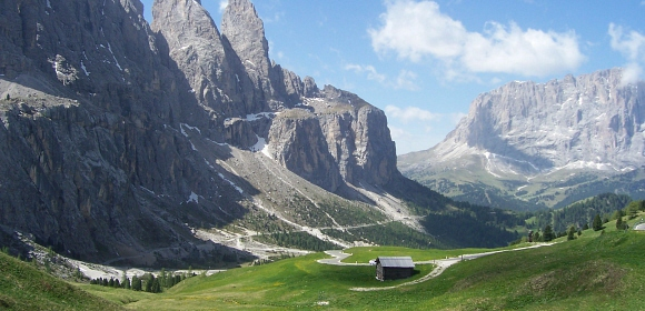 Dolomitterne er exceptionelle til vandreture