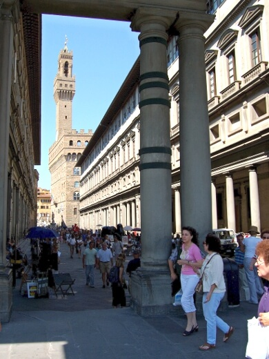 Uffizierne i Firenze - Italiens fornemste museum